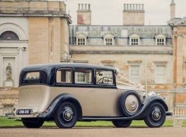 Vintage Rolls Royce for weddings in Oxford